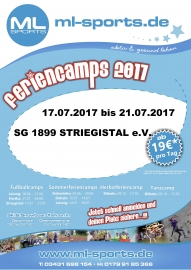 Feriencamps 2017 Plakat SG Striegistal_50